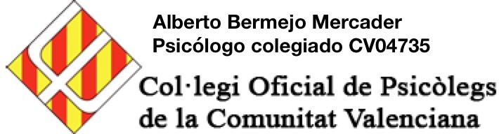 Alberto Bermejo Mercader Psicólogo colegiado CV04735